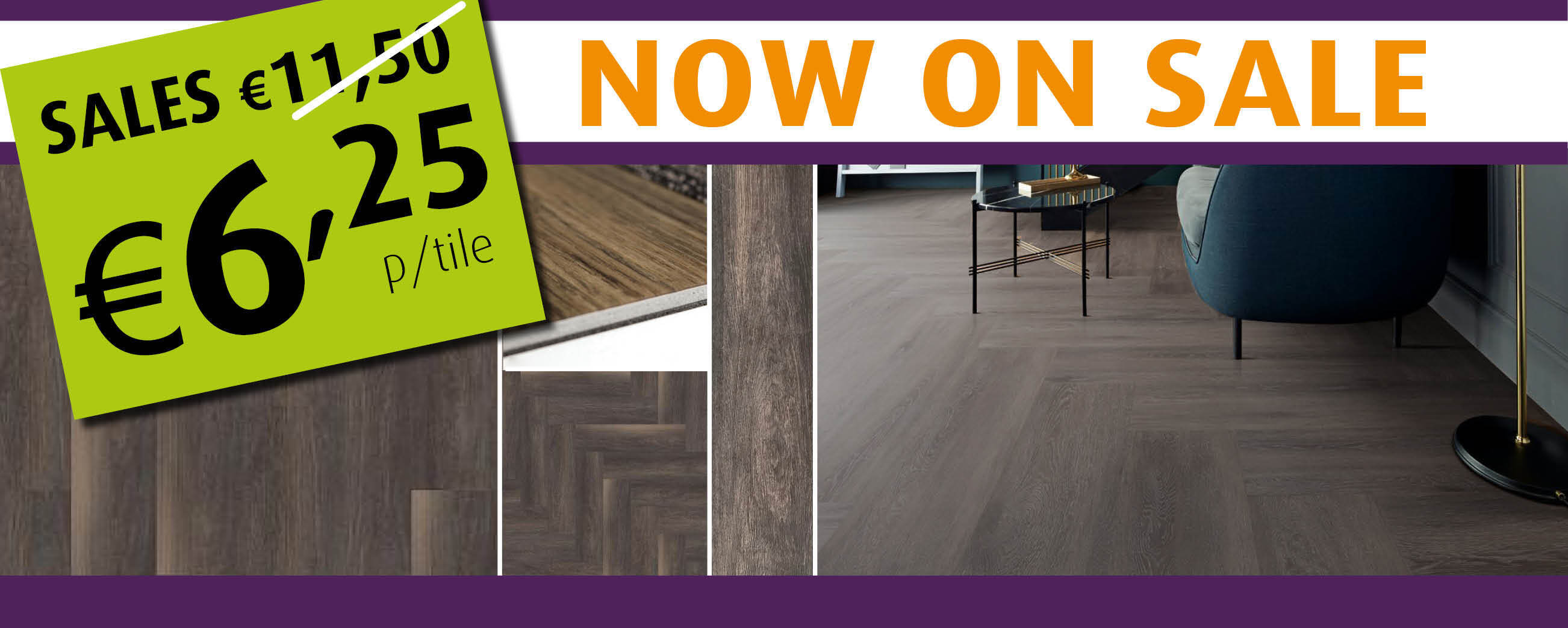 LVT Plank Textured Woodgrains